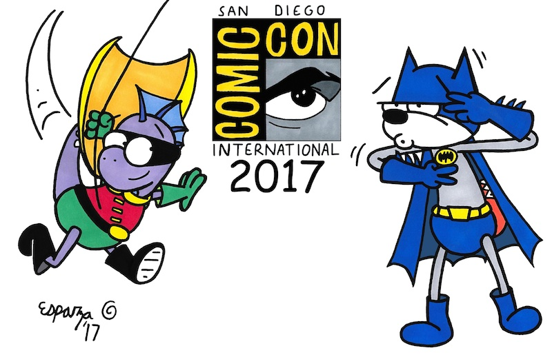 HAPPY COMIC CON 2017 Y'ALL!!!